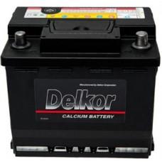 Автомобильный аккумулятор DELKOR 65Ah