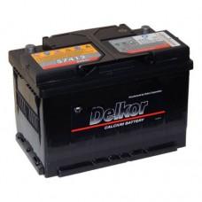 Автомобильный аккумулятор DELKOR 74Ah
