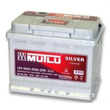 Автомобильный аккумулятор MUTLU 55Ah левый+