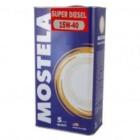 Моторное масло Mostela SUPER DIESEL 15W-40 5 л
