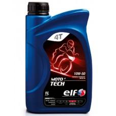 Моторное масло ELF MOTO4 TECH 10W-50  4T  1л